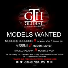 MODELS WANTED! ALL Nationalities, Backgrounds, Ages, Sex, Religious Beliefs, Colors, Height, Weight, Political Beliefs WELCOMED TO APPLY! . . Our launch Date Is COMING SOON! So, FOLLOW US FOR UPDATES! @gthglobalps . . #modelswanted #modelsneeded #modeling #castingcall #compcard #malemodel #femalemodel #sexymodel #nerdmodel #fashionmodel #clothingmodel #facemodel #handmodel #feetmodel and more WELCOMED