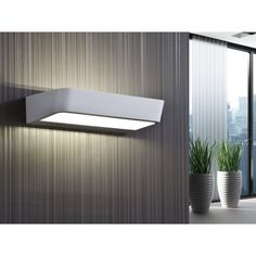 Schuller 860953 Megan LED White Wall Lamp |ideas4lighting.com | SKU20913I4L Bedside Wall Lights, Led Wall Lights, Mirror With Lights, Candle Lamp, Candle Sconces, Wall Sconces, Light Picture Wall, Led Color, Lumiere Led