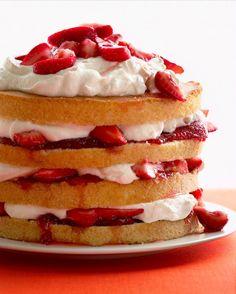 Strawberry Shortcake. Yum!