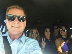 Nikki, Brie Bella, Kathy Colace, JJ Garcia, John Laurinaitis