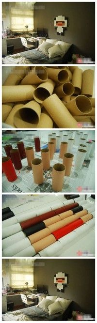 recycle your toilet paper rolls