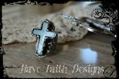BE STILL Ring by HaveFaithDesigns on Etsy