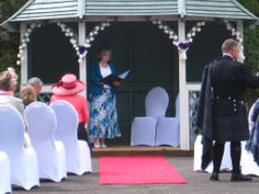 Ceremonies take place within the Garden Pavillion  http://www.weddingswales.co.uk/venues/falcondale/falcondale-civilceremonies
