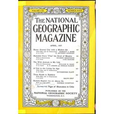 National Geographic Magazine, April 1957 | $1.74