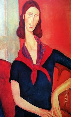 Amedeo Modigliani -  Jeanne Hébuterne (Au Foulard) One of Modigliani's Last Paintings Could Go for More Than $40 Million – Robb Report