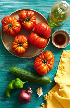 11 chilled summer soups, including 8 variations of gazpacho: Best of Recipe Box Long Green Peppers, Stuffed Green Peppers, Cooking With Ground Beef, Gazpacho Recipe, Cooking Green Beans, Wine Gift Boxes, Vegan Soup, Stuffed Whole Chicken, Recipe Box