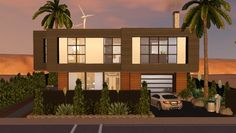 THE HAWKSWOOD MODERN 48 house by Mark Connor - Sims 3 Downloads CC Caboodle