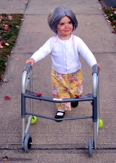 100 days of school, dress like you're 100 years old  Granny D - 2013 Halloween Costume Contest