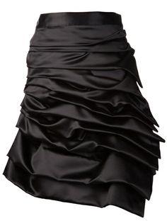 Designer Asymmetrical Skirts for Women Skirt Fashion, Fashion Outfits, Womens Fashion, Types Of Pleats, Pencil Skirt Work, Junya Watanabe, Asymmetrical Skirt, Comme Des Garcons, Rock