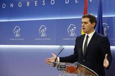 Albert Rivera avisa de que intentará evitar que Puigdemont o Junqueras presidan el Govern catalán