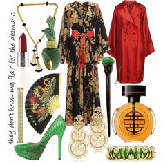 inspired by Mrs. Meers - Thoroughly Modern Millie, created by maniactress.polyvore.com