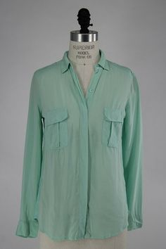 Splendid Utility Shirt in Spearmint – Parts + Labour - Women's Clothing Boutique, Hood River stocking Prairie Underground, Wildfox, Desigual, Bailey 44, Free People