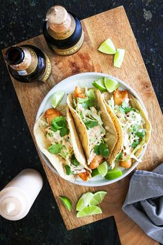 The best fish taco in San Diego plus a recipe for Crispy Fish Tacos with Chipotle Crema.