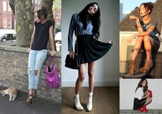 Showing how casual chic is done via her blog =)
