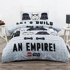 Lego Star Wars Quilt Cover Set Duvet Cover Bedding Darth Vader Stormtrooper New