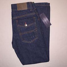 Boys Size 8 Tommy Hilfiger Slim Fit Jeans Nwt