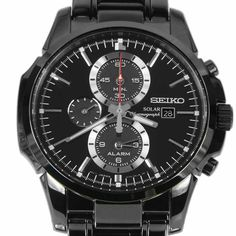 seiko kinetic ska493p1 ska493 mens titanium watch montres. Black Bedroom Furniture Sets. Home Design Ideas