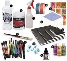 art journaling kit | Flickr – Compartilhamento de fotos!