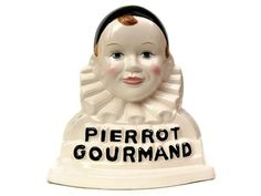 French Pierrot Gourmand Lollipop Stand. Vintage by LeBonheurDuJour