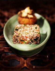 Vegan Italian Quinoa Cakes Recipe