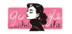 88 Reasons to Love Audrey Hepburn! In honour of what would've been Audrey Hepburn's birthday, here are 88 reasons to love her: For her devotion to her dogs (photo via rareaudreyhepburn) For. Google Doodles, Edie Sedgwick, Bridget Bardot, Mary Kate Olsen, Ashley Olsen, Logo Google, Art Google, Doodle Face, 85th Birthday