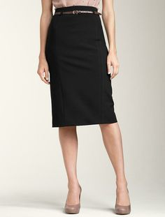 Talbot pencil skirt