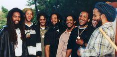 The Marley Brothers: Robert, Julian, Ky-Mani, Rohan, Stephen & Ziggy Bob Marley Kids, Marley Family, Dancehall Reggae, Reggae Music, Kingston, Marley Brothers, Bob Marley Pictures, Damian Marley, Stephen Marley