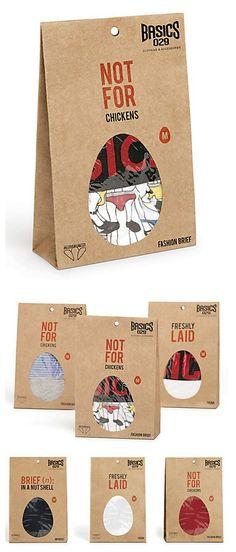 Underwear #packaging with a sense of humor : ) PD