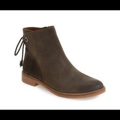 "Lucky Brand ""Gwenore"" Leather Boot"