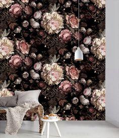 Papier peint à fleurs - ATELIER RUE VERTE le blog