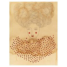 Love this print filled with... Print!  POLKA DOT PARISIENNE - VALERIE GALLOWAY