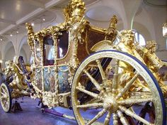 London, Royal Mews, Gold State Coach