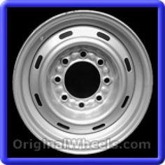 Dodge Vans 2000 Wheels & Rims Hollander #2043  #Dodge #Vans #DodgeVans #2000 #Wheels #Rims #Stock #Factory #Original #OEM #OE #Steel #Alloy #Used