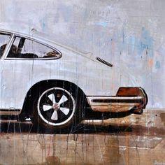 Quando os automóveis se transformam em arte