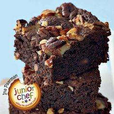 This is one of my favourite variations of our brownies! Best Brownie Recipe, Brownie Recipes, Cake Recipes, Dessert Recipes, Desserts, Chocolate Treats, Chocolate Brownies, Chocolate Cakes, Pecan Recipes