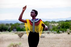 A Dinka Corset, hand-beaded by Mary Padar of the Dinka tribe of South Sudan, is a stunning work of art. Whether you don it over an evening dress for a smashing entrace, or add drama to your jeans and