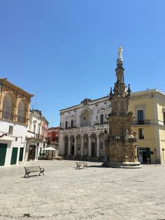 One of the most beautiful baroque square in the South of Italy: Nardo'