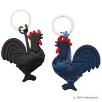 GALLO - Rooster Italian Leather Key Chain