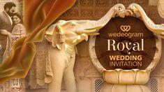 Royal Wedding Invitation, Creative Wedding Invitations, Indian Wedding Invitations, Wedding Stationery, Electronic Wedding Invitations, Digital Invitations, Custom Invitations, Invites, Royal Indian Wedding