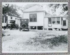 "The picture (circa 1937) is of the infamous Chicken Ranch in La Grange which was both legendary and one of the oldest in Texas.  The questionable business operated for more than 130 years.  It was immortalized first in the musical, ""Best Little Whore House in Texas and later in the movie of the same name starring Burt Reynolds and Dolly Parton."