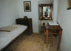 Cella di fra' Pio nel convento di Sant'Elia a Pianisi