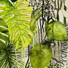 Tissu ameublement | Christian Lacroix | Velours+Soft+Jardin+Exo'Chic