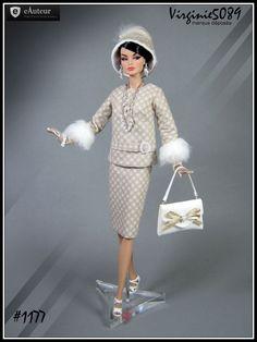 tenue outfit + accessoires pour fashion royalty et integrity toys #1177