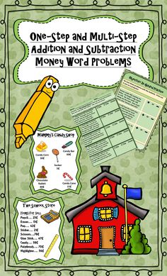 200 1st & 2nd Grade Money Word Problems