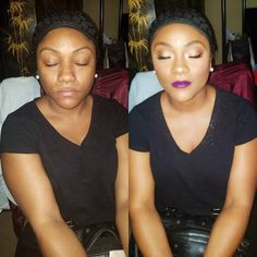 Makeup By Me ���� I have availability TODAY, TOMORROW and Next l week For One on One Classes and Makeup Appointments.. To Book Me Send Me aText to 929-295-1270or  DM ���� #nycmakeupartist #WeddingMakeup  #BrooklynmakeupArtist  #Blackgirl #makeupobsessed #makeupforblackwomen #ilovemakeup #Glam #Glitter #Brooklynmua #blackgirl #anastasiabeverlyhills #MakeupLessons #NYMUA #MakeupForBlackGirls #Bridalmakeup #makeup #makeupartist #blendthatshit #ilovemybrides #photoshoot #lashes #contour…