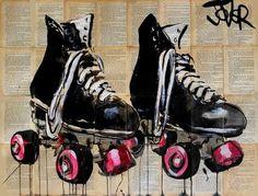 "Saatchi Art Artist Loui Jover; Drawing, ""roll with it"" #art"