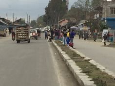 People out on the roads in Kashmir 10 Picture, Natural Disasters, Roads, Street View, World, Nature, People, Pictures, Top