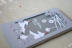 Coffrets de carte de voeux - carte postale et autre cartes - Boucles de papier - Fait Maison