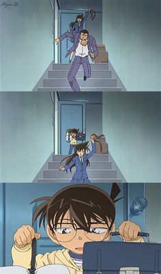 Detective Conan The careless Mouri Family
