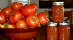 Canning Rajčata |  Chytrý nápad, aby se vaše čerstvá sklizeň Delší